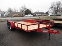 82 x 16 TA UTILITY TRAILER NEW - $1395 (BROKEN ARROW,