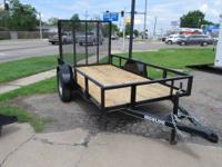 2013 NEW Black 5 x 10 Utility Trailer FOR SALE - $995