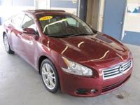 2013 Maxima SV ** Tuscan Red metal ** Nissan Certified