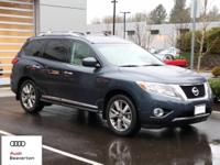 Check out this gently-driven 2013 Nissan Pathfinder we