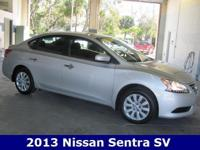 2013 Nissan Sentra SV Driver Package (Leather Wrapped