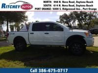 LOCALLY OWNED 2013 NISSAN TITAN PRO-4X 4WD CREW