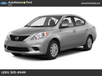 This 2013 Nissan Versa SV is offered solely by
