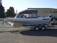 New in stock 2013 North Stream Seahawk, 22ft x 84 inch