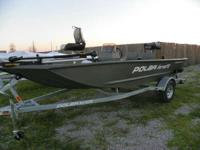 2013 Polar Kraft Sportsman 1554 LTD Loaded package