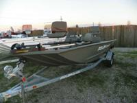 2013 Polar Kraft Sportsman 1754 SE Loaded boat with