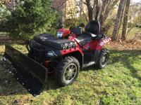 2013 POLARIS Sportsman XP 850 with eps limited touring