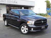 Don't miss this RAM 1500 4x4 Crew Cab Express with Hemi