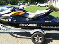 For sale is a mint condition 2013 Seadoo GTR 215 with