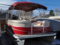 Used 2013 Sylvan 8522 Mirage Cruise with 75 hp