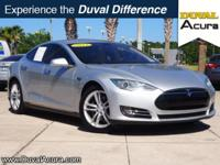 New Price! This 2013 Tesla Model S in Silver Metallic