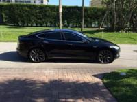 Mint condition 2013 Tesla Model S P85 Performance with