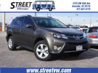 In this 2013 Toyota RAV4 XLE, enjoy every drive with