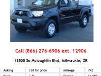 This 2013 Toyota Tacoma is offered exclusively by