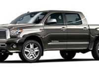This 2013 Toyota Tundra 2WD Truck is proudly offered by