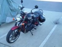 This is a 2013 Triumph Bonneville SE, limited number