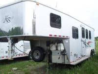 2013 United 6X10 enclosed trailer. Special ordered new.