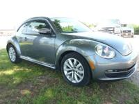 2013 VW BEETLE WITH TURBO-DIESEL! CLEAN CARFAX WITH