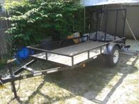 2013 trailer with title! *** Great for transporting a