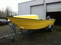 This is the 2014 model 20' C'nook dory. We take every
