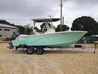 This 2014 22' Sea Fox Commander Center Console is