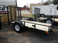 The 29SA Single Axle Utility Trailer. from Big Tex