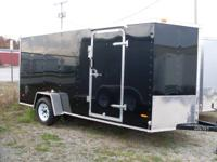 WE HAVE HERE A BRAND NEW 6X14 ENCLOSED CARGO TRAILER