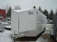 2014 LIGHTNING ALUMINUM AUTOMOBILE HAULER 8.5 X24 WITH