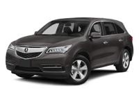 PREMIUM & KEY FEATURES ON THIS 2014 Acura MDX include,