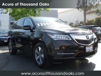 Options:  2014 Acura Mdx|Black/|V6 3.5 L
