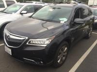 MDX 3.5L Advance Pkg w/Entertainment Pkg, 3.5L V6 SOHC