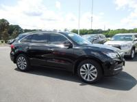 Carfax One Owner - Carfax Guarantee This 2014 Acura MDX