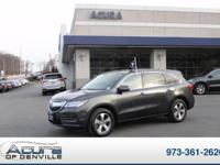 This outstanding example of a 2014 Acura MDX is offered