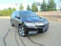 Our 2014 Acura MDX SH-AWD presented in Black offers