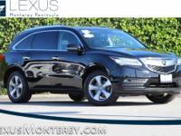 MDX 3.5L, 3.5L V6 SOHC i-VTEC 24V, AWD, Crystal Black