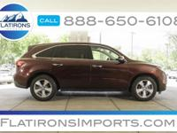 Flatirons Imports is offering this 2014 Acura MDX 3.5L,