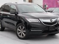 Recent Arrival! Certified. 2014 Acura MDX 3.5L Advance