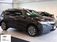 This 2014 Acura MDX is equipped with: All Wheel Drive,