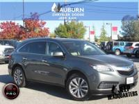 ONE OWNER, LOW MILEAGE, BLUETOOTH! This 2014 Acura MDXX