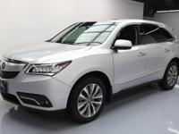 2014 Acura MDX with Alabaster Silver MEtallic Paint