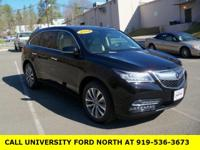 CARFAX One-Owner. 2014 Acura MDX 3.5L Technology