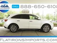Flatirons Imports is offering this 2014 Acura MDX 3.5L