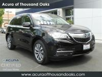 Options:  2014 Acura Mdx Tech Pkg|Black/|V6 3.5 L