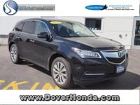 Carfax 1 Owner! Accident Free! 2014 Acura MDX 3.5L