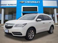 This outstanding example of a 2014 Acura MDX
