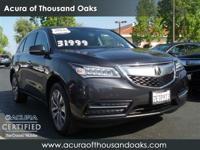 Options:  2014 Acura Mdx Tech Pkg|Gray/|V6 3.5 L