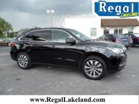 Black 2014 Acura MDX 3.5L Technology Package FWD