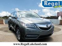 Certified. 2014 Acura MDX 3.5L Technology Package FWD