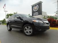 In this 2014 Acura RDX Base, enjoy every drive with