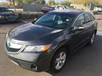 AWD.  2014 Acura RDX 27/19 Highway/City MPG  Awards: *